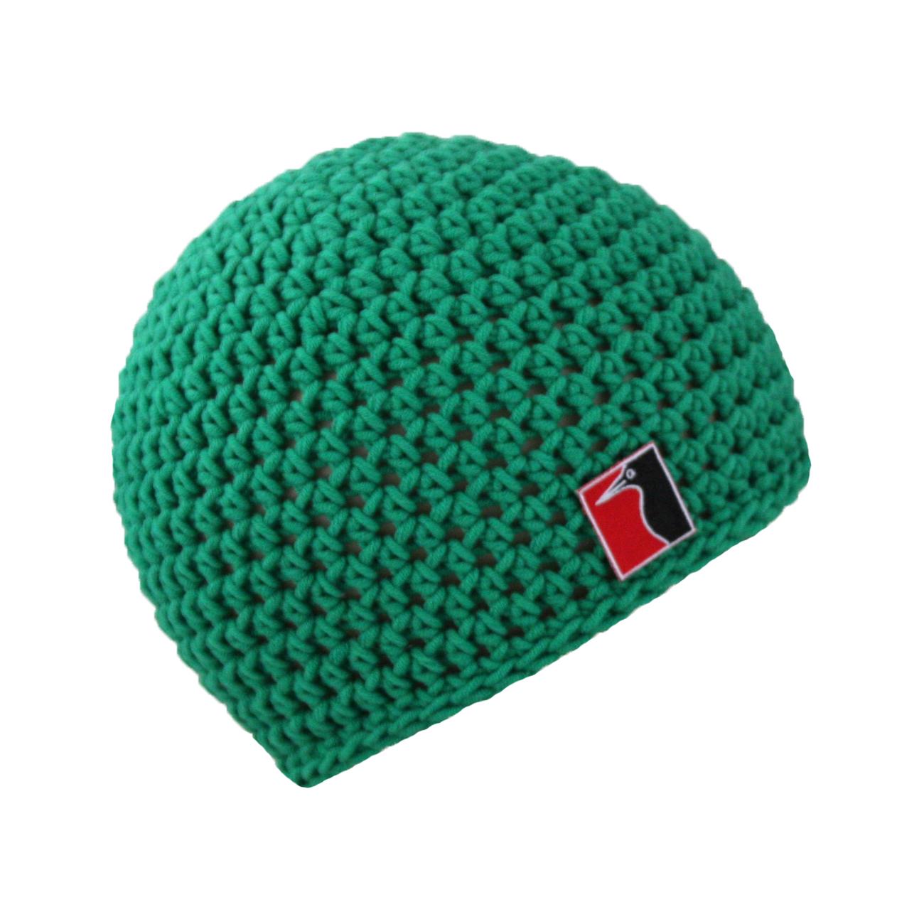 gehäkelte Sommermütze grün