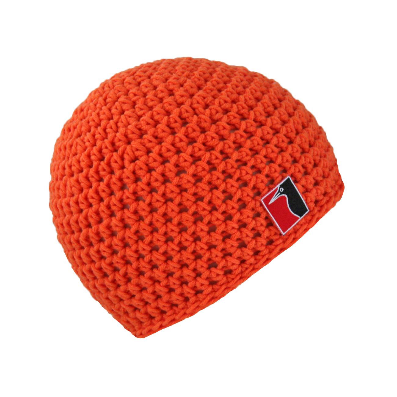 gehäkelte Sommermütze orange