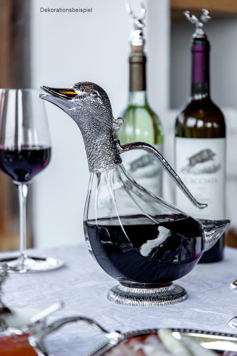 Weindekanter Ausgießer - Dekanter für Weißwein und Rotwein