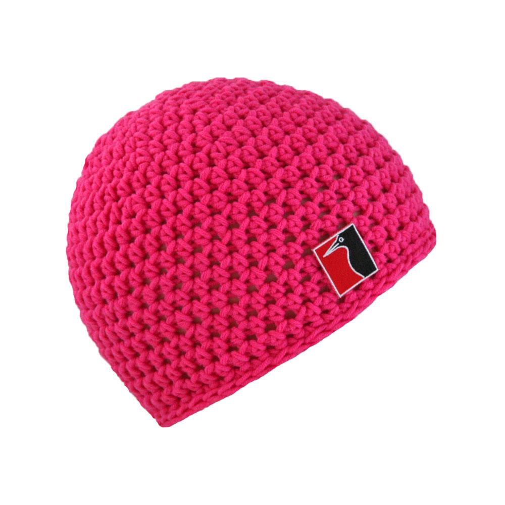 gehäkelte Sommermütze pink
