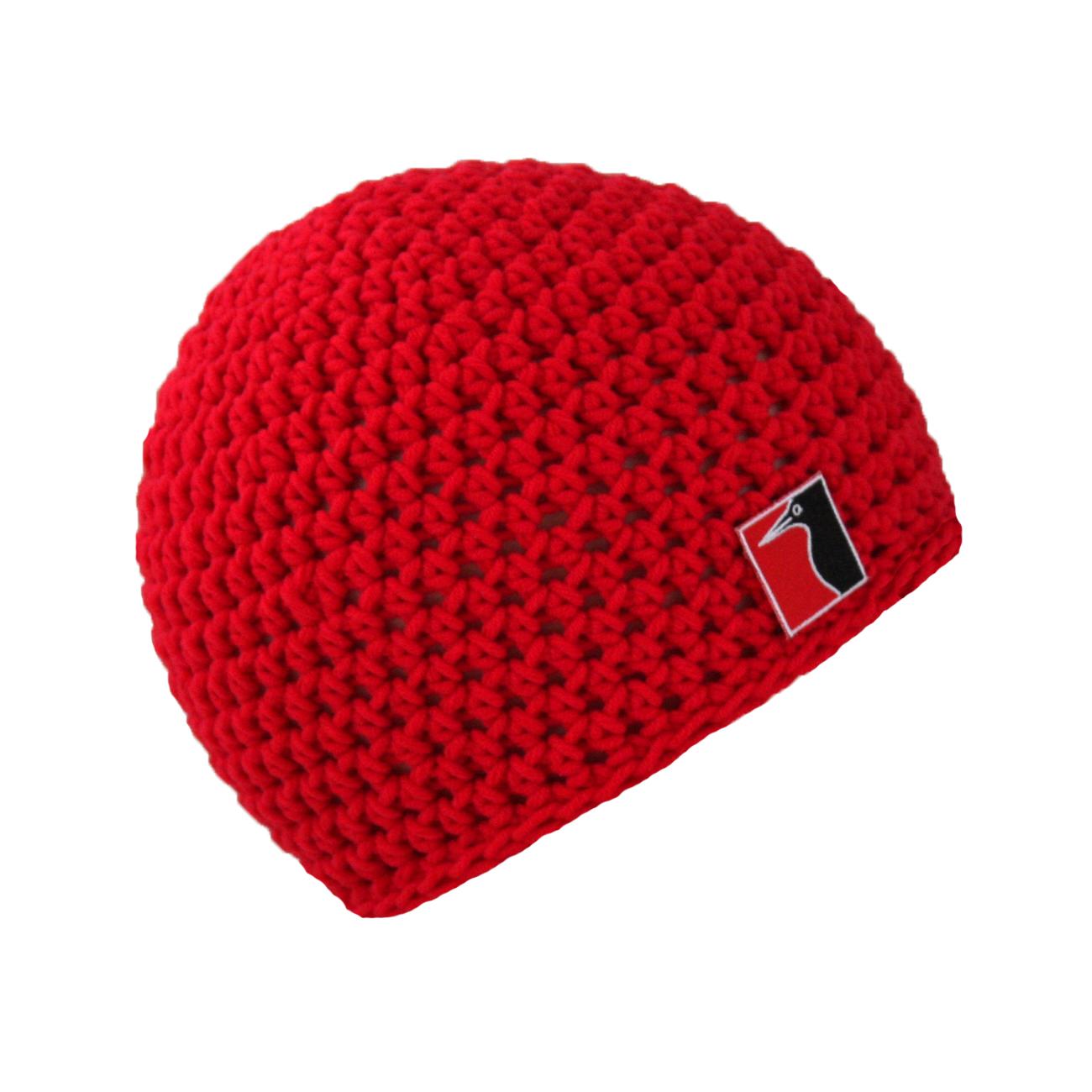 gehäkelte Sommermütze rot