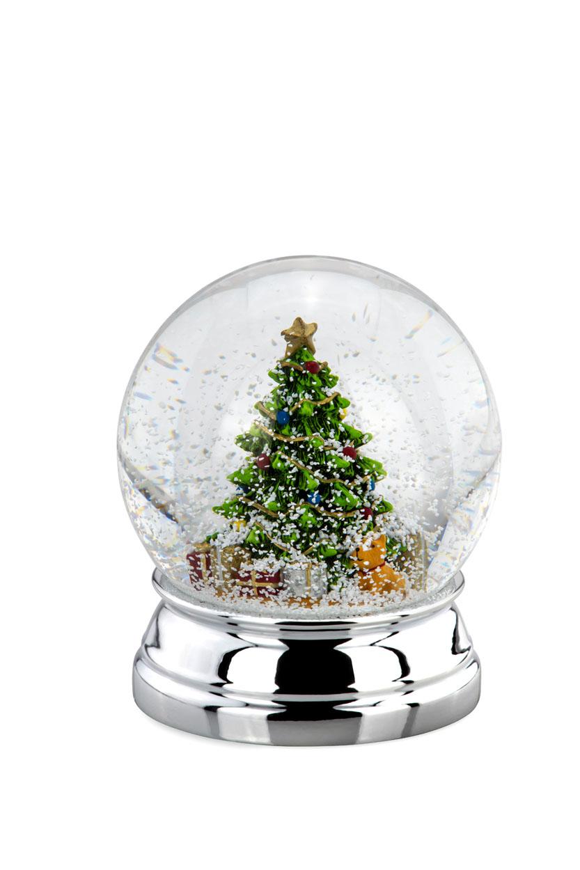 Schneekugel - Weihnachtsbaum Geschenke Hund - XL groß
