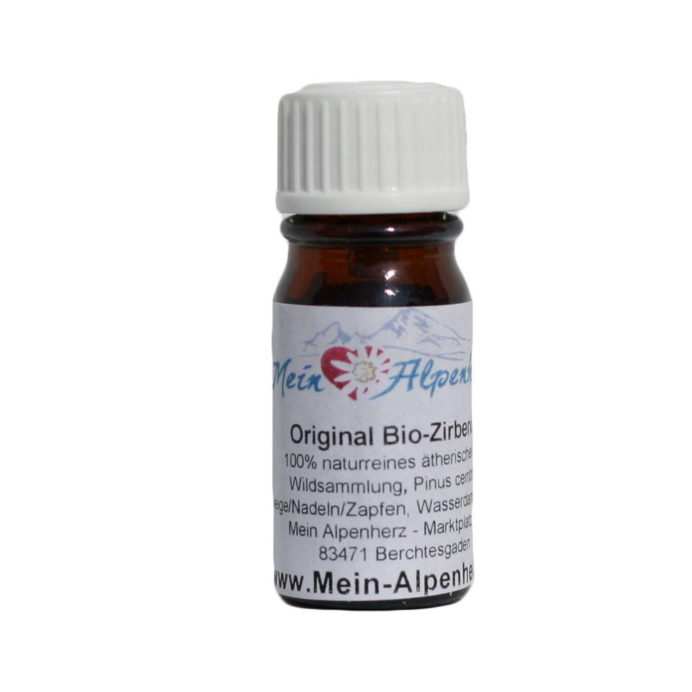 Bio Zirbenöl - naturreines ätherisches Öl 5ml
