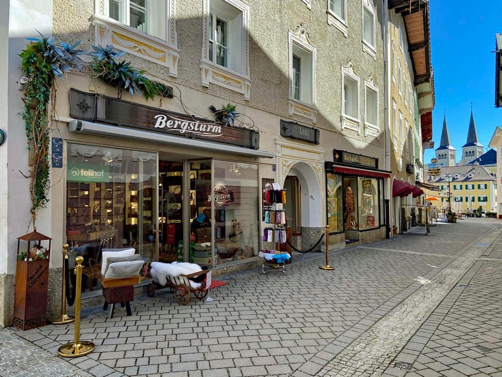 Bergsturm - Ladenlokal in Berchtesgaden